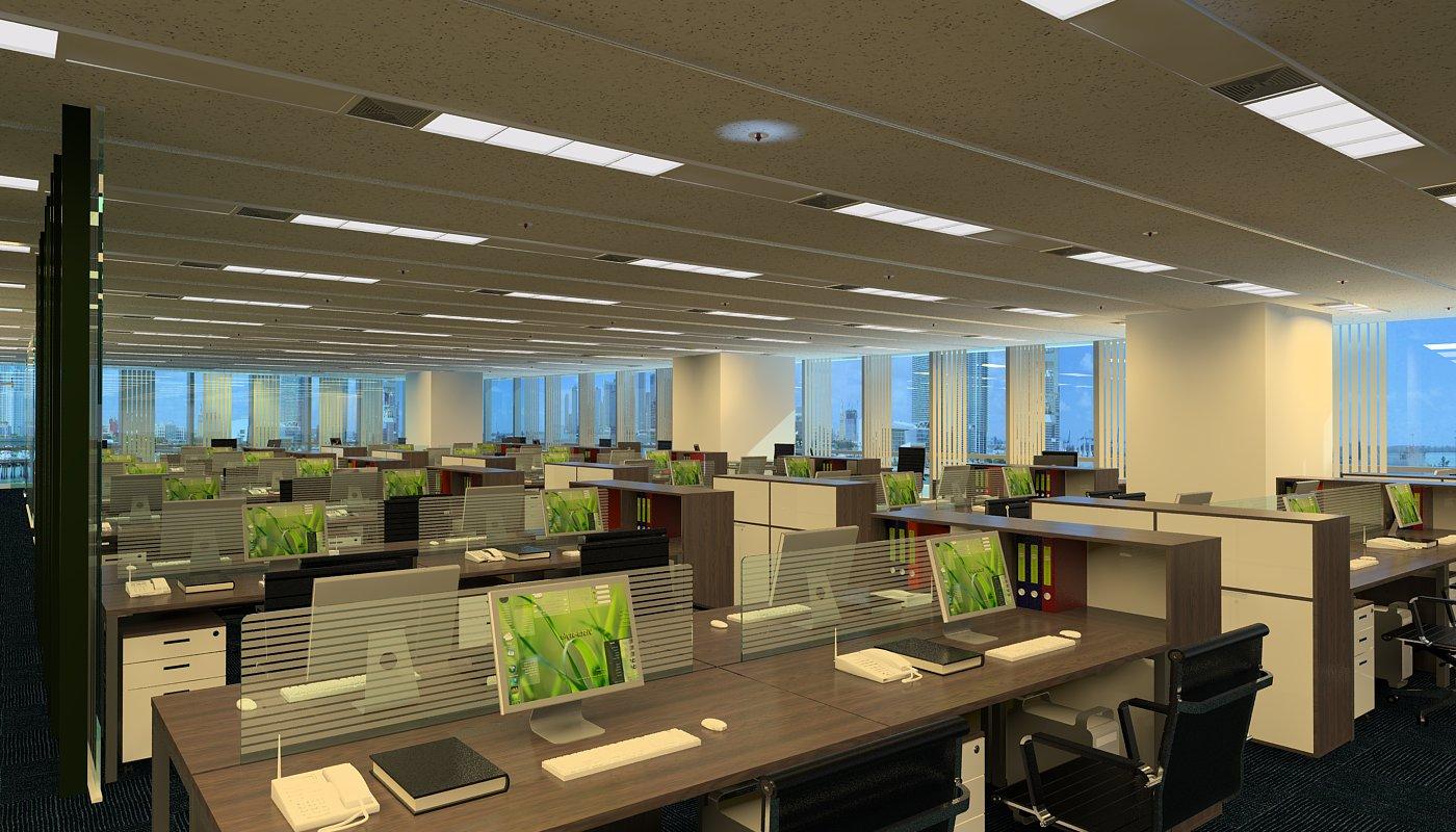 Thi công công ty - văn phòng - 2