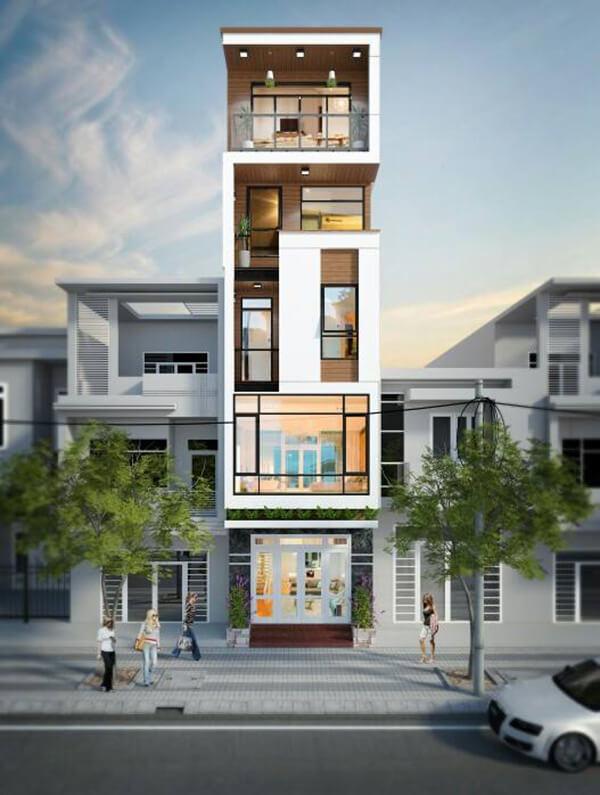 Xây dựng thi công nhà phố - 1